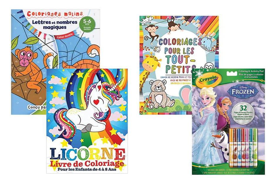 Cahiers de coloriages: une sélection pour occuper les enfants
