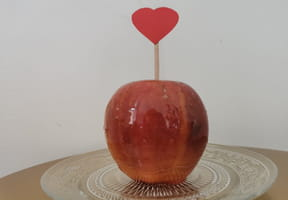 Pomme d'Amour: la recette facile