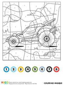Coloriage Voitures Hot Wheels Sur Hugolescargot Com