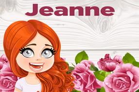 Jeanne : prénom de fille lettre J
