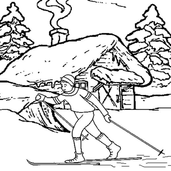 Hiver coloriage hiver en ligne gratuit a imprimer sur - Coloriage hivers ...