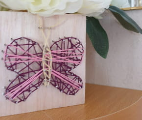 String Art : comment faire un papillon ?