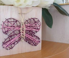 String Art: comment faire un papillon?