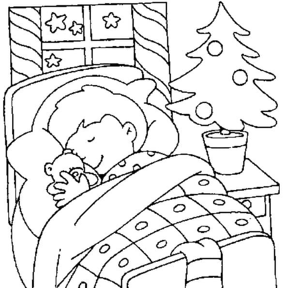 Dessin pour Noël a colorier