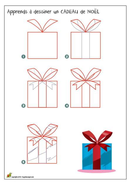 Dessiner Un Cadeau De Noël