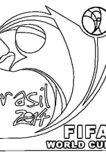 Coloriage Coupe du Monde 2014
