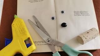 Matériel pour fabriquer le livre hérisson