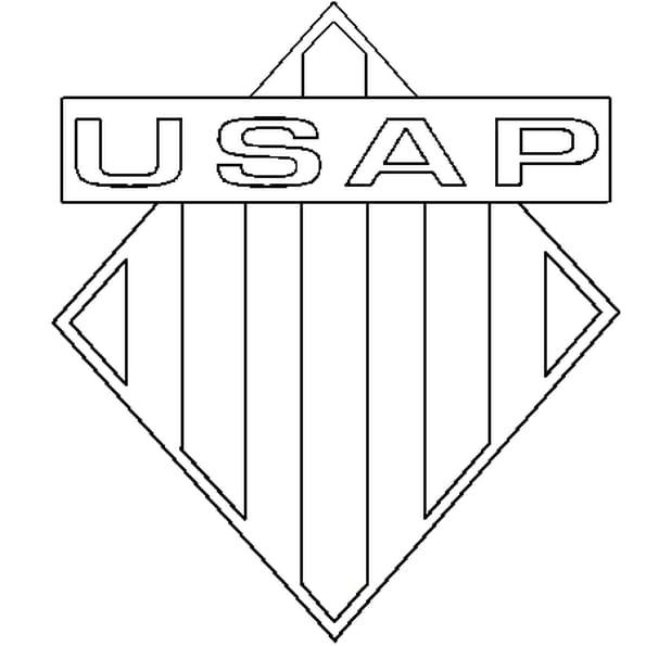 Coloriage USAP en Ligne Gratuit à imprimer
