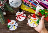Bonhomme de neige: activités et bricolages pour Noël