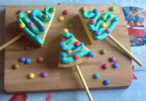 Gâteau sucette sapin de Noël