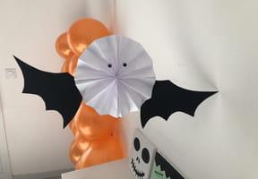 Rosace chauve-souris, décoration Halloween [VIDEO]