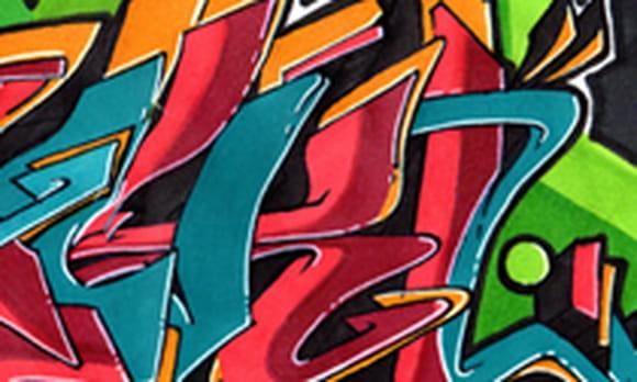Coloriage tag et graffiti sur - Coloriage graffiti ...