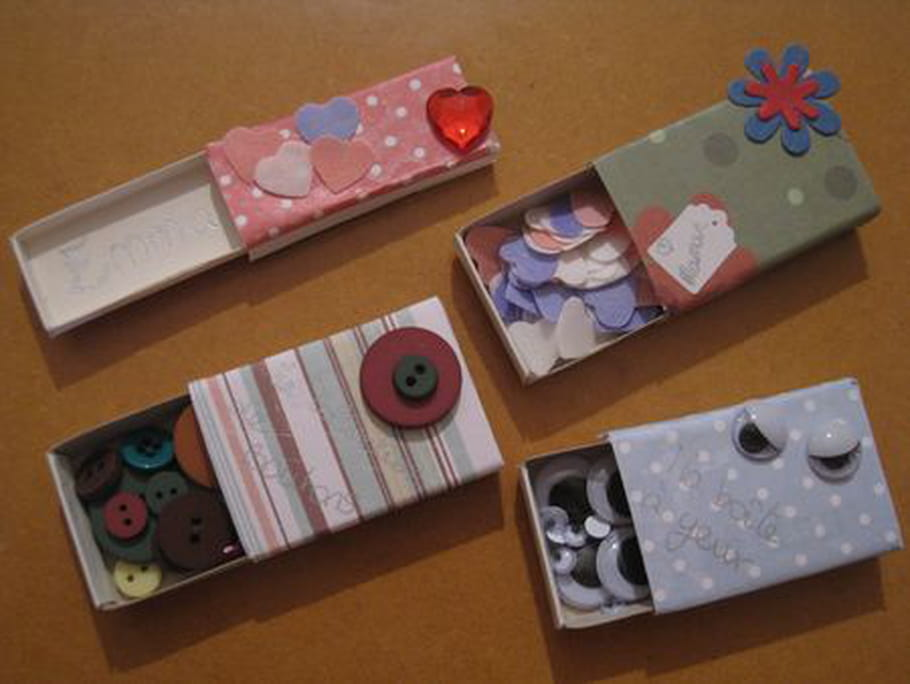 Mini-boîtes faciles
