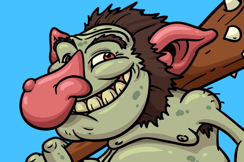 Coloriage Trolls