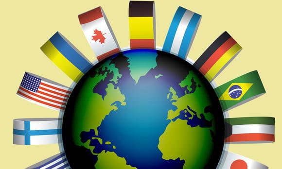Drapeaux du monde C à E