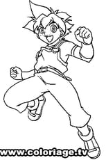 Coloriage Beyblade Max
