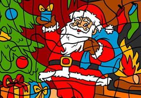 Coloriages magiques Noël