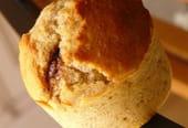 Muffins Noisette, cœur de Nutella