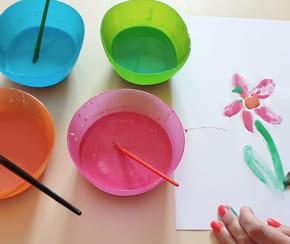 Peinture comestible pour enfants [VIDEO]