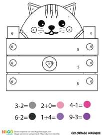 Coloriage Une Vie De Chat.Coloriage Chat A Imprimer Sur Hugolescargot Com