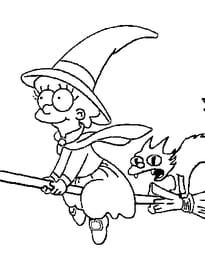 Halloween Simpson