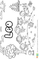 Leo prénom de garçon version4