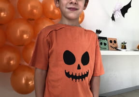 Personnaliser un t-shirt pour Halloween [VIDEO]