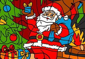 Coloriage Magique de Noël