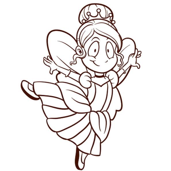 Coloriage princesse danseuse en ligne gratuit imprimer - Coloriage en ligne princesse ...
