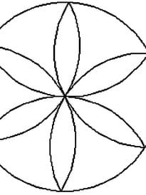 Mandala rosace