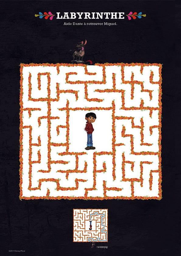 Coco, le labyrinthe