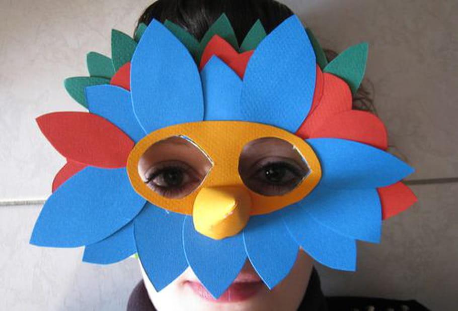 Masque oiseau - Masque oiseau a imprimer ...