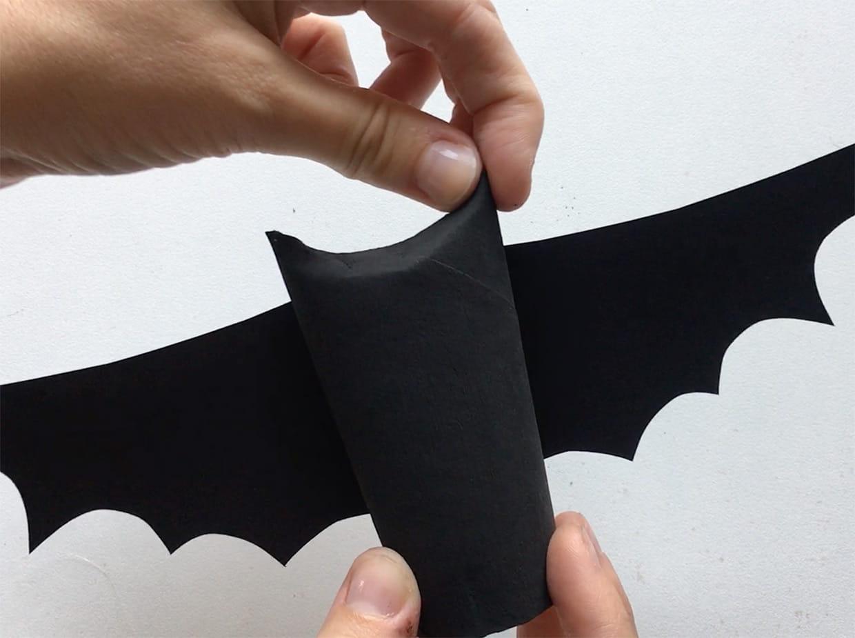 Chauve Souris D Halloween En Rouleau De Papier Toilette Vidéo