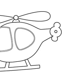 Coloriage transport sur - Coloriage helicoptere cars ...