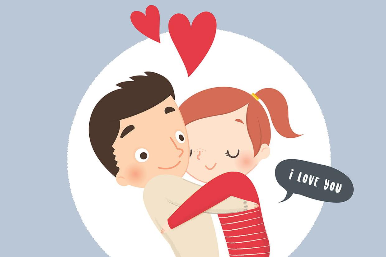 Coloriage amour sur - Coeur d amoureux ...