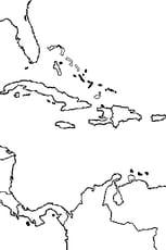 Coloriage Amérique Centrale