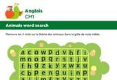 Apprendre des mots en Anglais, les animaux série 1