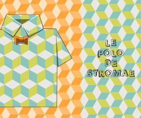 Pliage polo en papier de Stromae