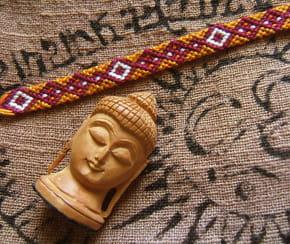 Bracelet brésilien Lhassa