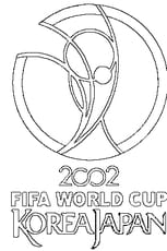 Coloriage Coupe du Monde 2002
