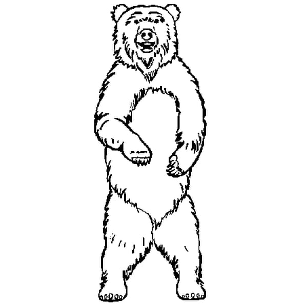 Ours des cavernes coloriage ours des cavernes en ligne - Dessin d un ours ...