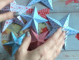 Origami étoile en papier - Étape 5