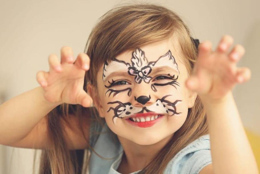 Peinture pour le visage: que choisir pour maquiller son enfant?