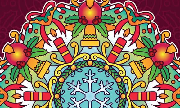 Mandalas Noël du Monde