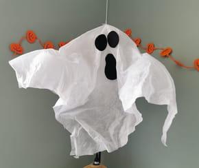 Fabriquer un fantôme d'Halloween