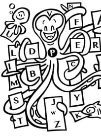 La pieuvre et l'alphabet