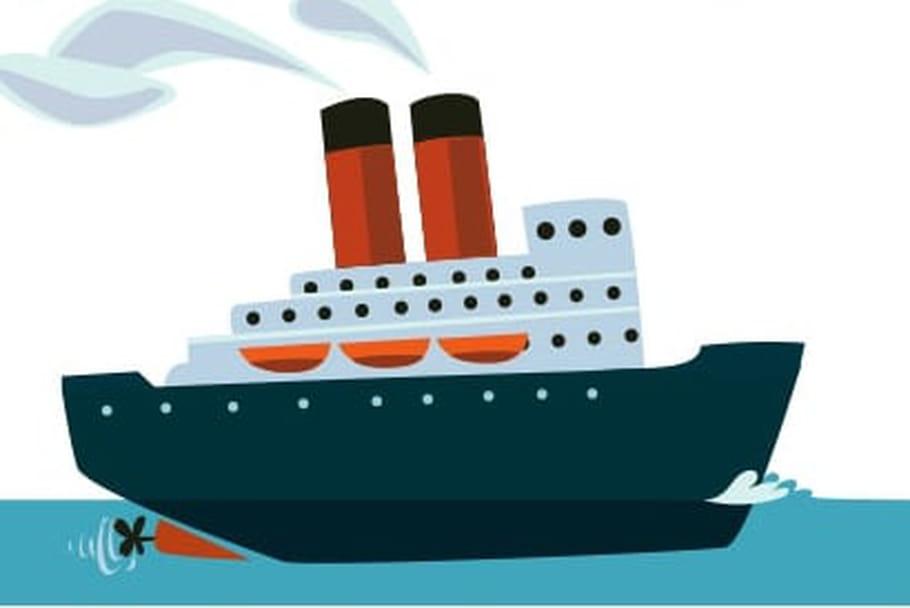 Dessiner un bateau - Dessin de bateau ...
