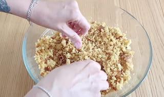 Étape 1: créer la pâte à Pop Cake