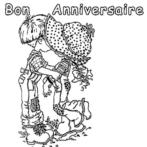 Bon anniversaire coloriage bon anniversaire en ligne - Dessin a imprimer anniversaire ...
