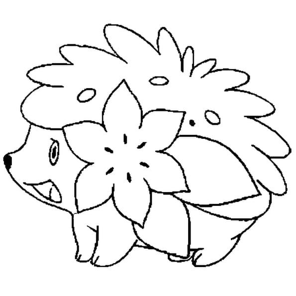Coloriage pok mon shaymin en ligne gratuit imprimer - Coloriages pokemon gratuit ...